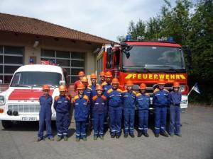 2015 Tag und Nacht bei der Feuerwehr - Gruppenbild